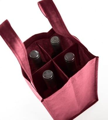 bolsa con separadores