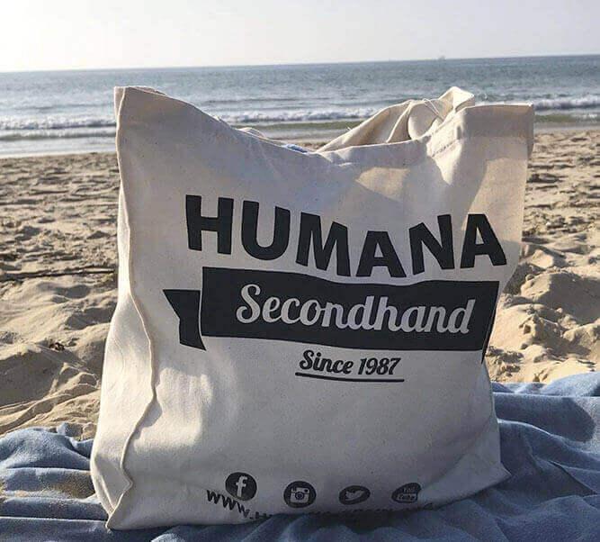 bolsa de algodón personalizada para tienda