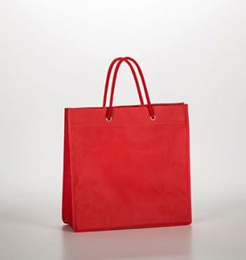 bolsa-de-tela-roja-fuelle-doble
