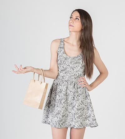 compra bolsa ecologica asa algodón