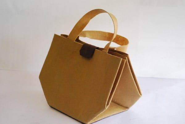 bolsa origami
