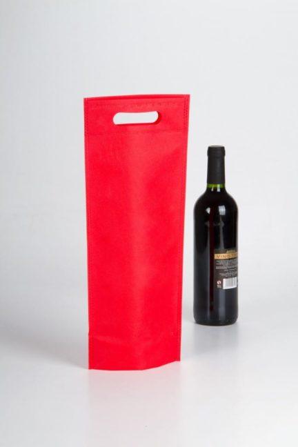 bolsas alargadas para una botella