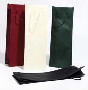 bolsas de tela para botellas