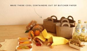 Creativas bolsas de papel