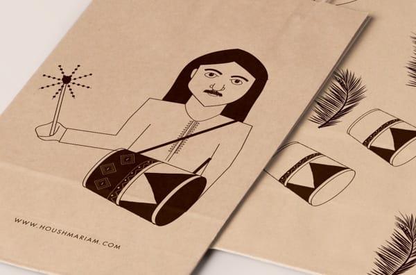 bolsas con dibujos