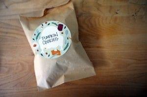 bolsas con etiquetas