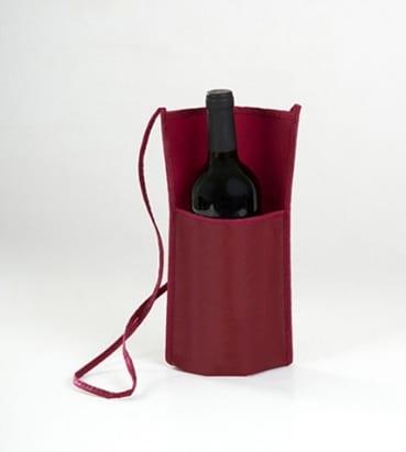 bolsas con asa larga para llevar una botella