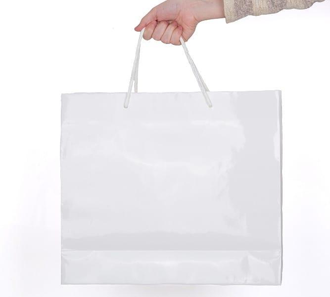 bolsas de lujo satinadas