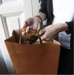 bolsas de papel bolso