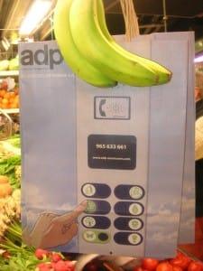 publicidad en bolsas de papel ecológica