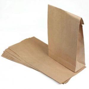 Las bolsas de papel de moda