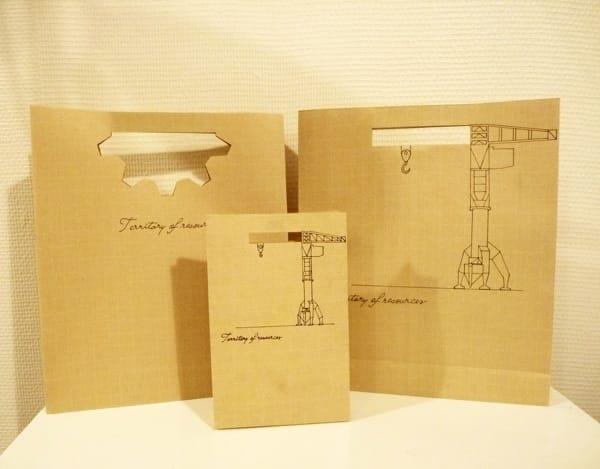Bolsas de papel originales