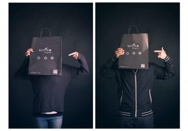 bolsas de papel para fotógrafos