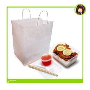 bolsas para transportar comida