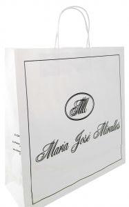 bolsas de papel ecologico para tiendas
