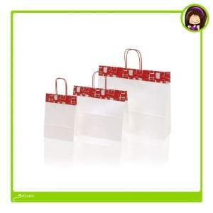 bolsas de papel con decoración