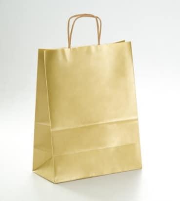 papel satinado en color oro
