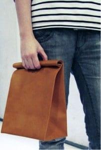 bolsas de papel que imitan bolsos