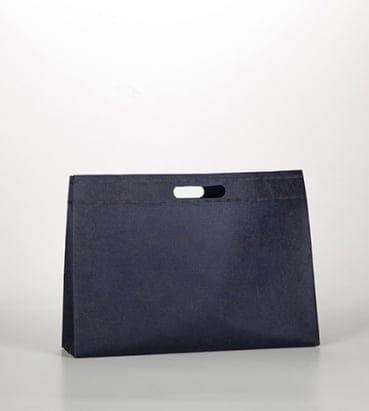 Bolsas de tela en color azul