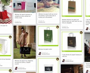 bolsas de papel en Pinterest
