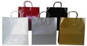 bolsas de papel con barniz Uvi