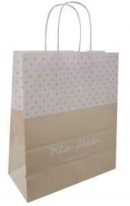 bolsas de papel para tiendas de ropa de niños
