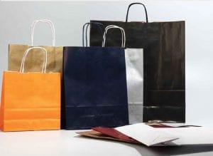 bolsas de papel reciclado para comercios