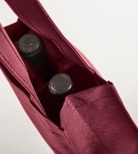 bolsas para dos botellas