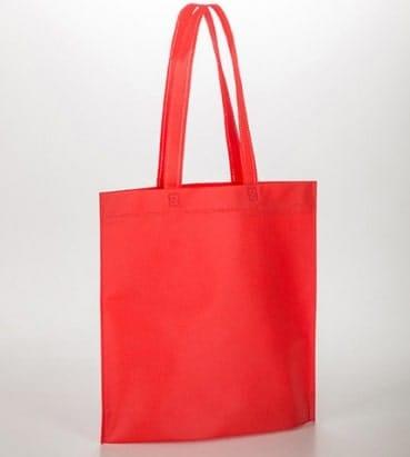 bolsas rojas con asa larga