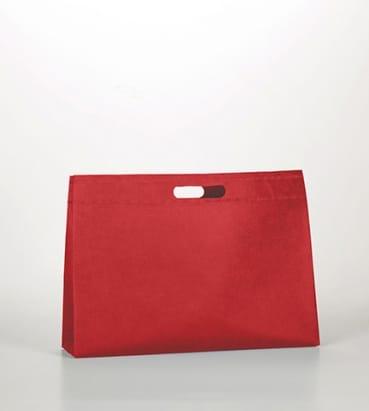 Bolsas rojas de tela