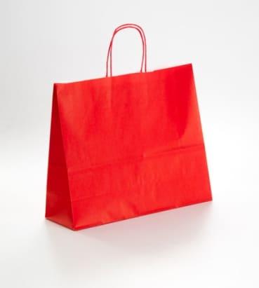 bolsas rojas horizontales