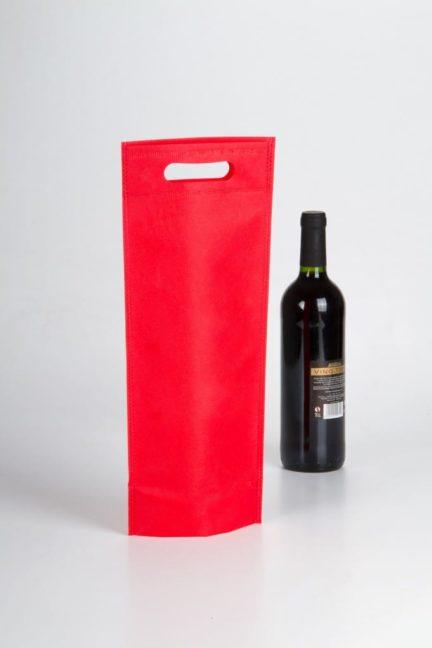 Bolsas rojas para vino