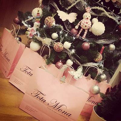 bolsas rosas