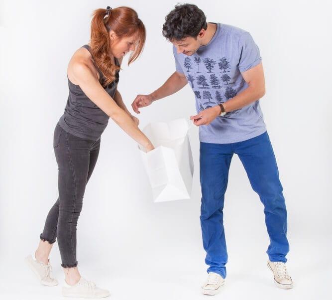 bolsas de papel sostenibles