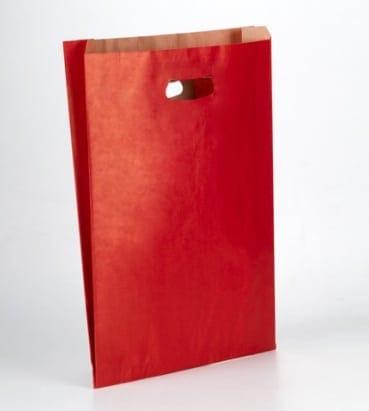 bolsas troquel rojas