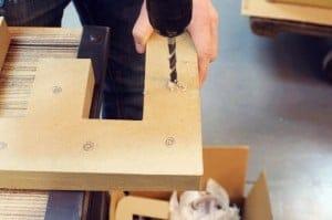 como hacer un rotulo de carton