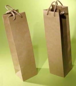 bolsas de papel para botellas