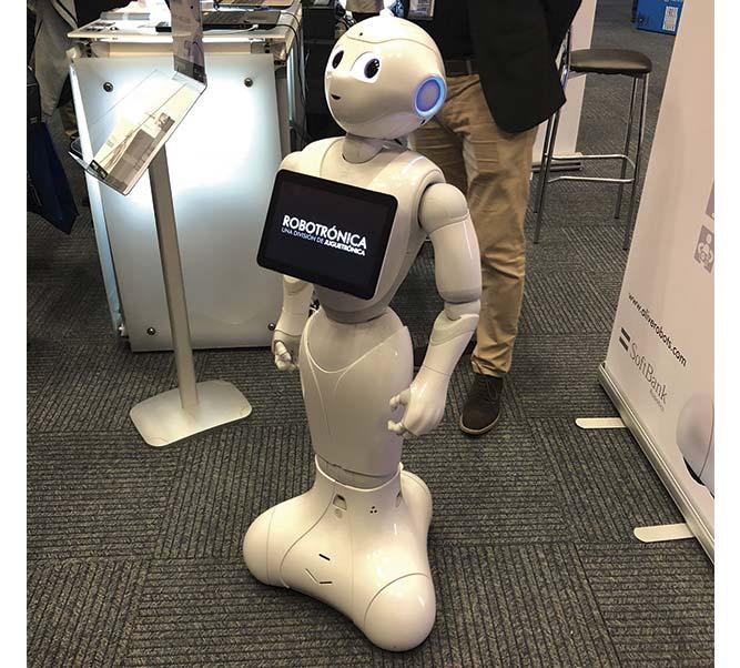 dependiente robot