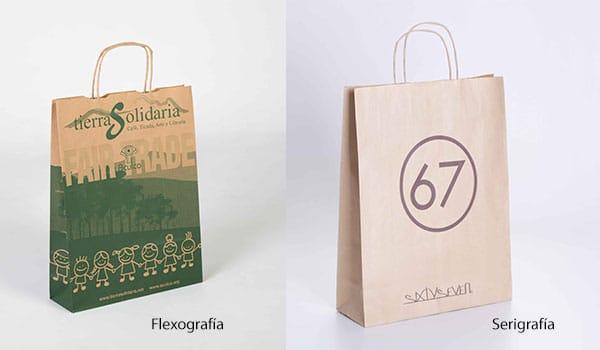 diferencias entre flexografia y serigrafia