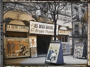 Fotos de París antiguo
