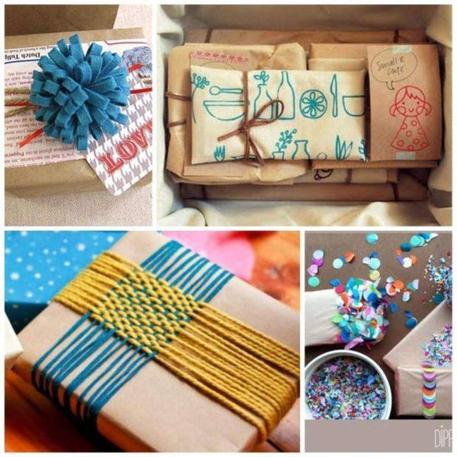 envolver regalos