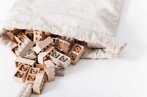fichas de lecho fabricadas con madera