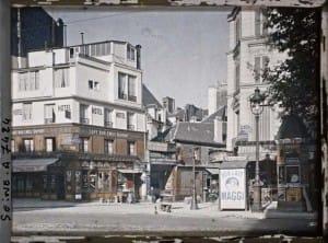 fotos de París de 1900