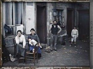fotografías antiguas de Paris