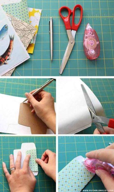 hacer sobres de regalo