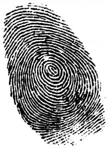 la huella dactilar como sistema de pago