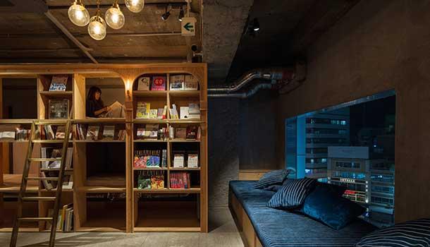 librería-dormitorio