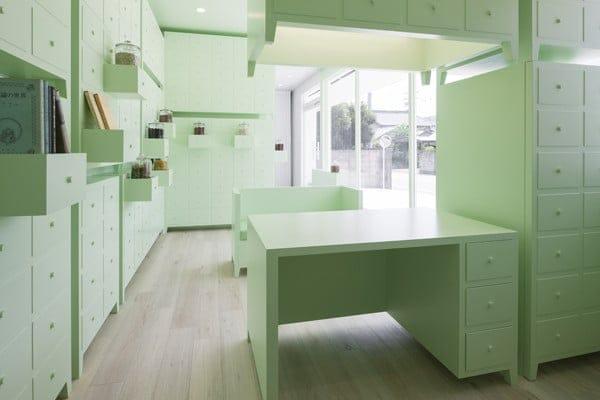 mobiliario curioso para farmacia