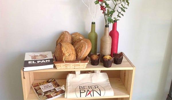 muestrario de bolsa para pan