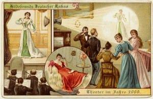 postales ilustradas antiguas